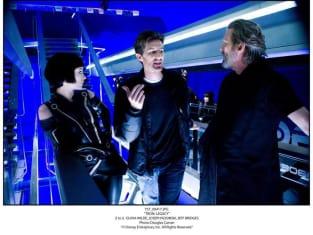 Kosinski Talking to Jeff Bridges