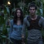 The Maze Runner Dylan O'Brien Kaya Scodelario