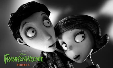 Mr. and Mrs. Frankenstein Frankenweenie Wallpaper