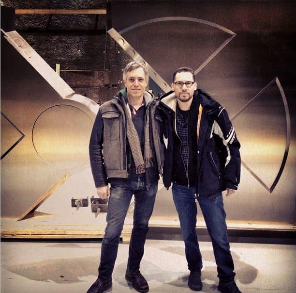 X-Men Apocalypse Set Bryan Singer
