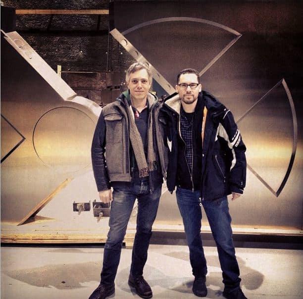 X-Men Apocalypse Set Bryan Singer