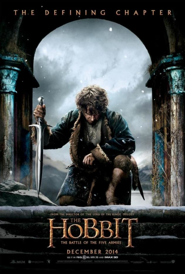 The Hobbit: The Battle of the Five Armies Bilbo Poster
