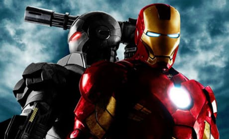 First Official Iron Man 2 Poster Features War Machine!