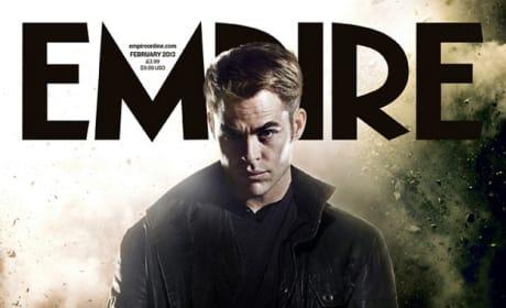 Chris Pine Star Trek Into Darkness Empire Cover