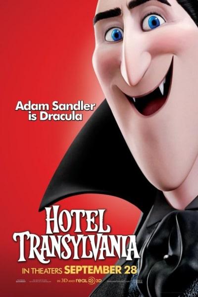 Hotel Transylvania Dracula Poster