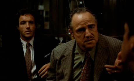 Don Corleone and Sonny