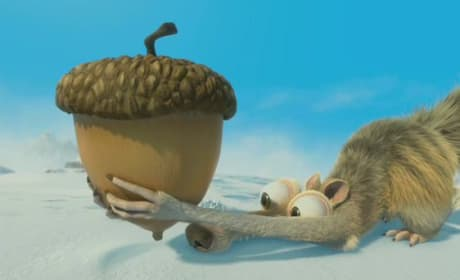 Scrat in Ice Age: Continental Drift