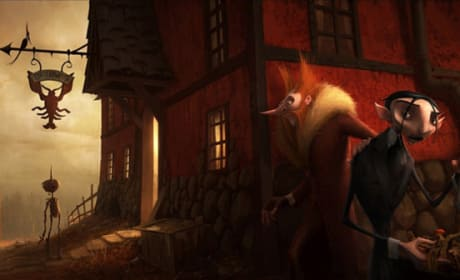 Guillermo Del Toro's Pinocchio in Pre-Production: Two New Concept Stills