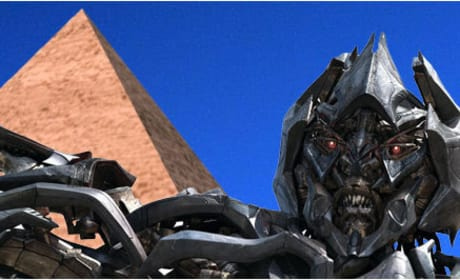 Transformers Sequel Shoots in Egypt