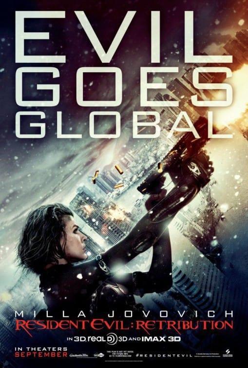Resident Evil Retribution Poster 2