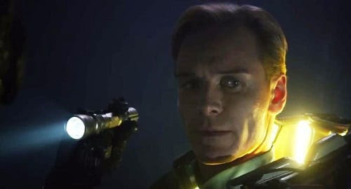 Prometheus Star Michael Fassbender