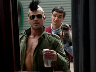 Zac Efron as Taxi Driver in Neighbors