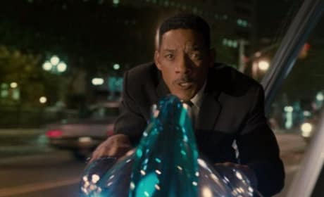 Will Smith in Men in Black 3 Video