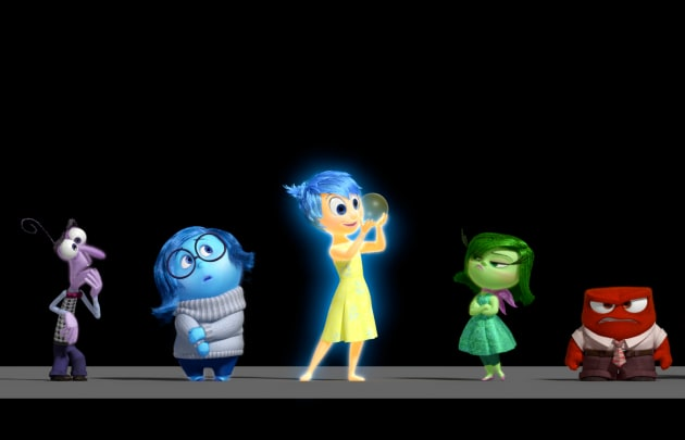 Inside Out's Cast