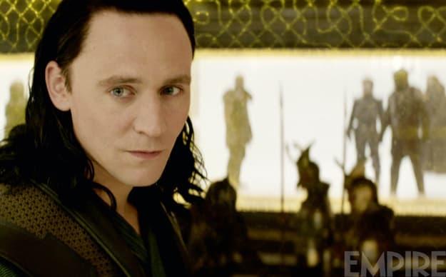 Thor: The Dark World Tom Hiddleston