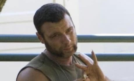 Liev Schreiber on Set of X-Men Origins: Wolverine