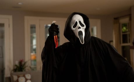 Ghostface in Scream 4