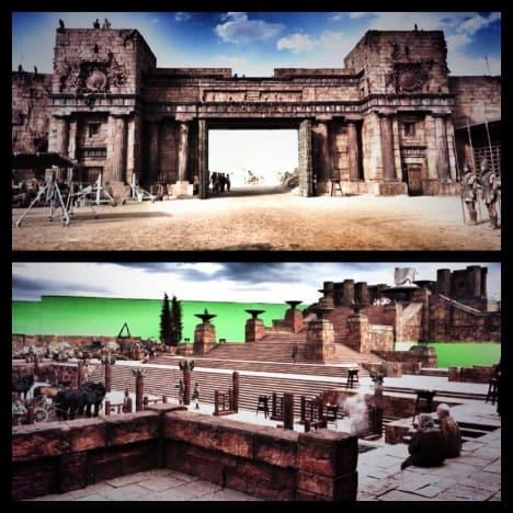 Hercules Set Photo