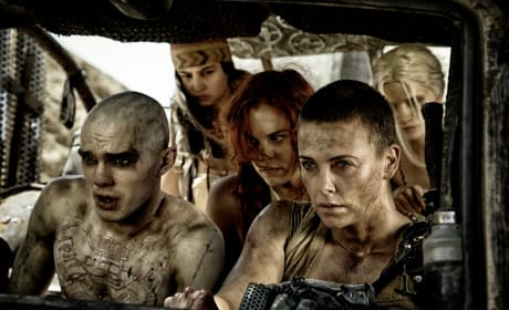 Mad Max Fury Road Charlize Theron Nicholas Hoult Photo