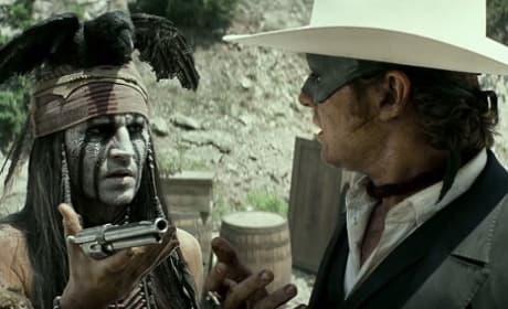 The Lone Ranger Johnny Depp Armie Hammer