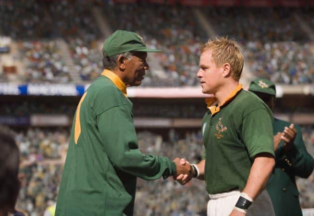 Mandela Congratulates Pienaar