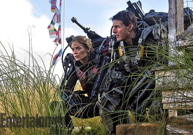 All You Need is Kill Tom Cruise Emily Blunt