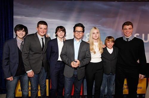 J J  Abrams Visits with Movie Fanatic Plus Our Super 8 Blu
