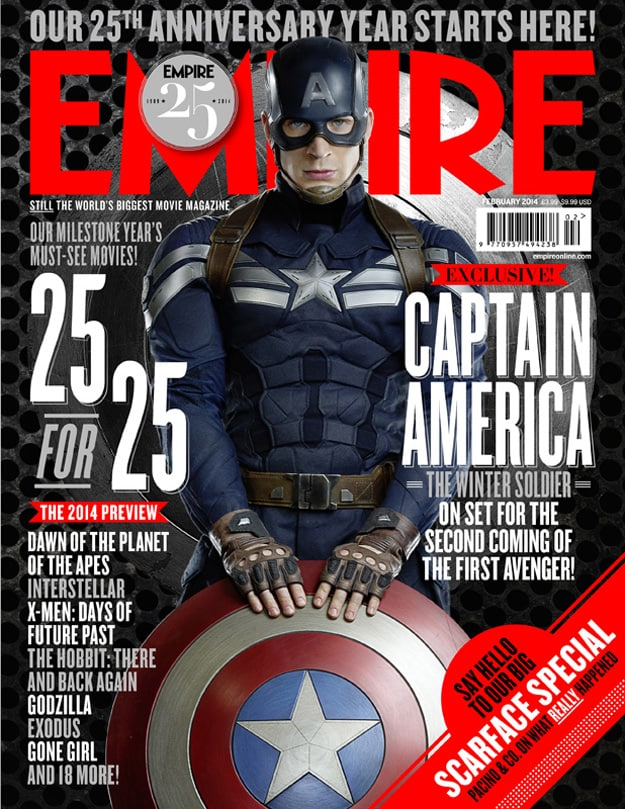 Captain America Empire Magazine