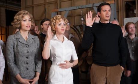 Jessica Biel, Scarlett Johansson, James D'Arcy Hitchcock