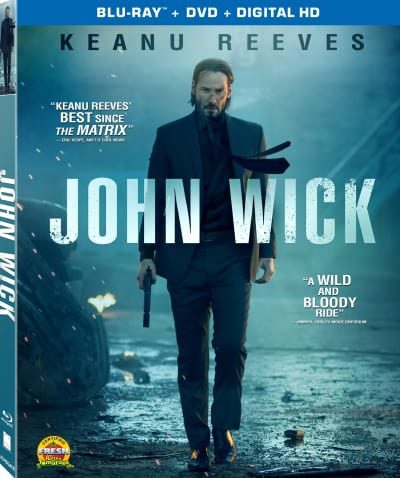 John Wick DVD Cover