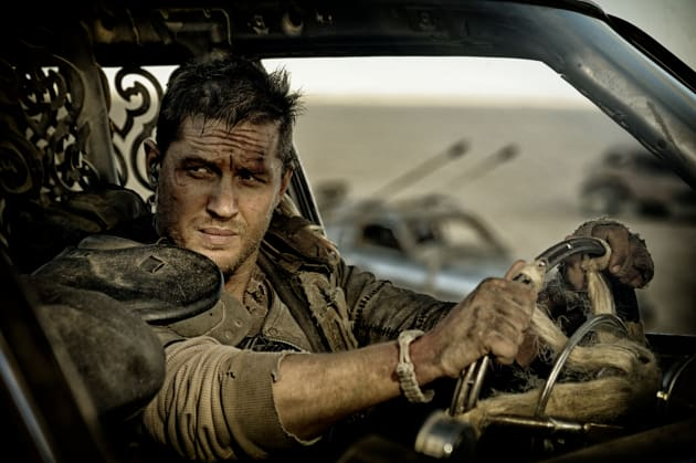 Tom hardy is mad max in mad max fury road