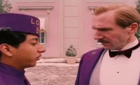 The Grand Budapest Hotel Clip: Ralph Fiennes Interviews The Lobby Boy