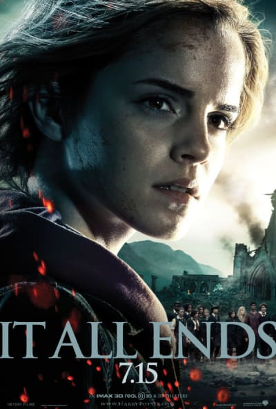 Hermione Deathly Hallows Part 2 Poster