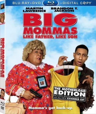 Big Mommas: Like Father, Like Son DVD Cover