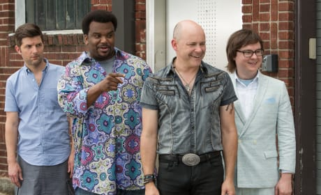 Hot Tub Time Machine 2 Clark Duke Craig Robinson Rob Corddry Adam Scott
