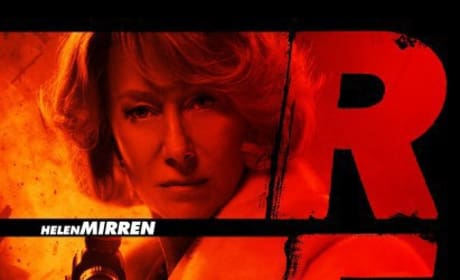 Helen Mirren's Red Poster Released!