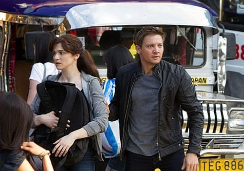 Rachel Weisz and Jeremy Renner in The Bourne Legacy