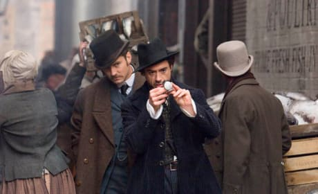 Holmes and Watson On the Case