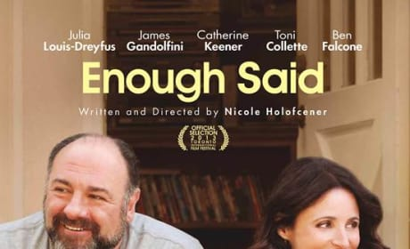 Enough Said Poster: Last Lead Role for James Gandolfini