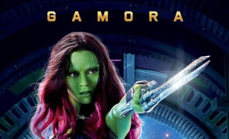 Guardians of the Galaxy Gamora Character Poster
