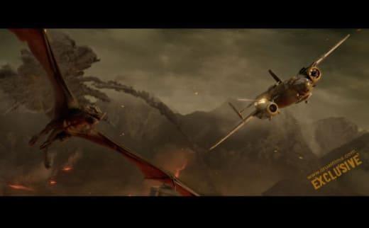 Dragon vs. Plane