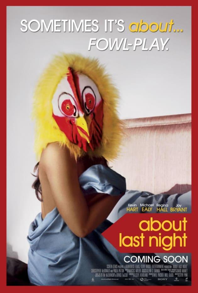 About Last Night Paula Patton Poster
