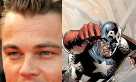 Leonardo DiCaprio Rumored to Play Captain America