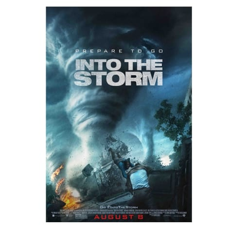 Into the Storm Prize Poster
