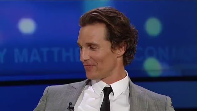 "Matthew McConaughey Explains Origins of ""Alright, Alright ..."