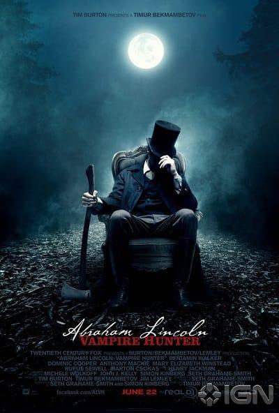 Abraham Lincoln: Vampire Hunter Poster Two