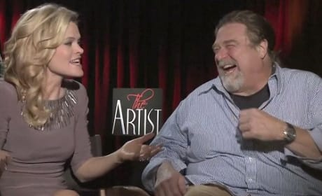 John Goodman and Missi Pyle in The Artist