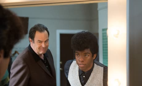 Get On Up Chadwick Boseman Dan Aykroyd