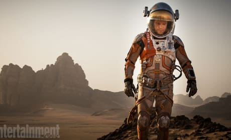 The Martian Photos: Matt Damon Is Stranded on Mars in Ridley Scott's Latest