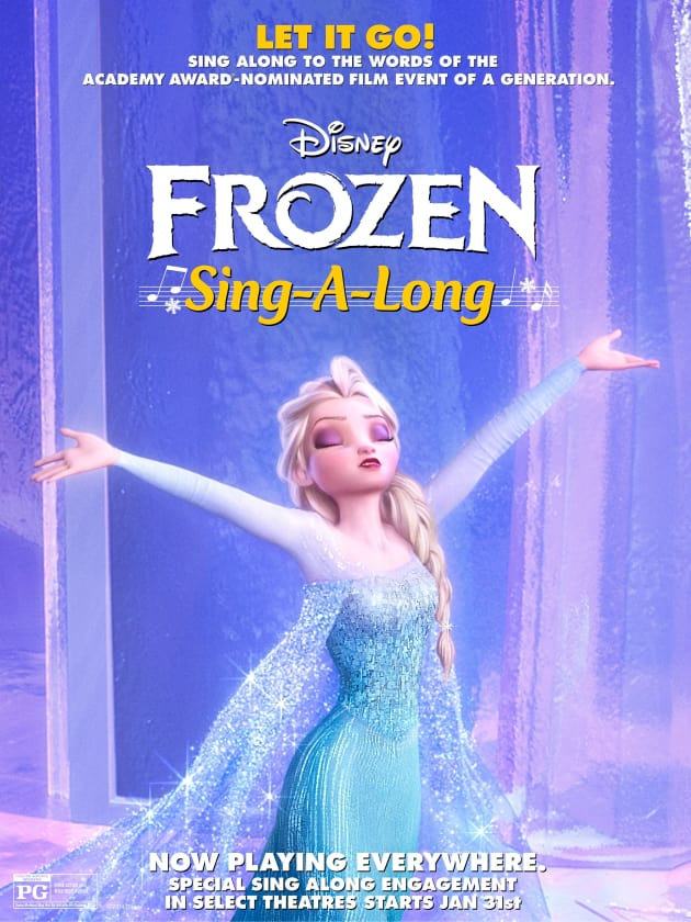 Frozen Sing-Along Movie Poster